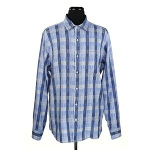 Tommy Bahama Linen Blend L/S Shirt Large Tall